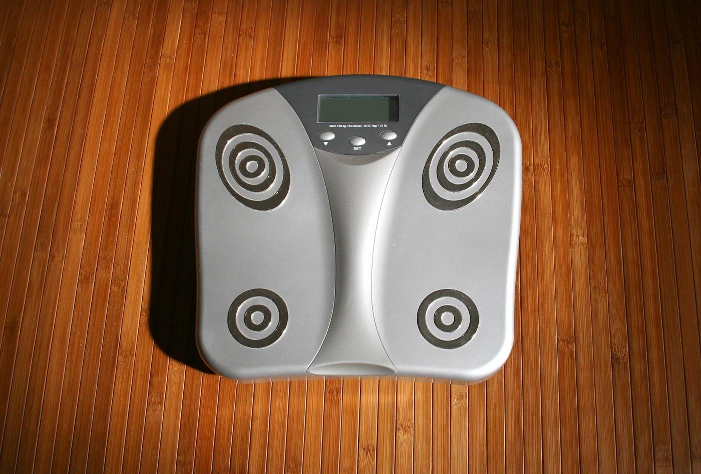 Körperfett messen mit einer Körperfettwaage